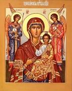 Рукописная икона Цилканская