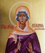 Рукописная икона Иулиания Россонская