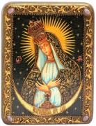 Икона ручной работы Остробрамская