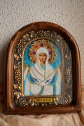 Икона из бисера Покров