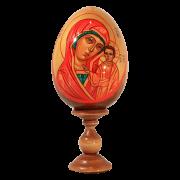 Пасхальное яйцо ручной работы Казанская икона