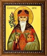 Рукописная икона Святой Аарон Первосвященник