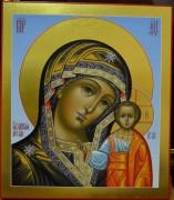 Рукописная Казанская икона Божией Матери