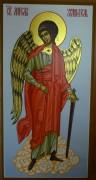Рукописная икона Ангел Хранитель в полный рост