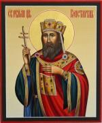 Рукописная икона Константин Равноапостольный