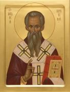 Рукописная икона Святой Андрей Критский