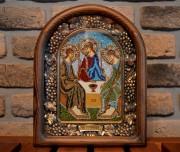 Икона из бисера Троица