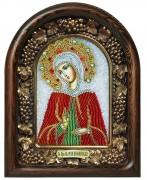 Икона бисером Мария Вифинская
