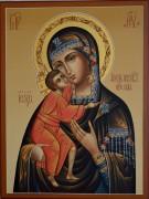 Рукописная икона Феодоровская
