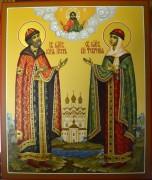 Рукописная икона Петр и Феврония Муромские 31