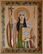 Резная икона Нина Грузинская