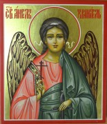 Икона Ангела Хранителя на золоте
