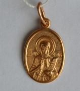 Золотая иконка Светлана (Фотиния)