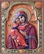 Резная Владимирская икона Божией Матери