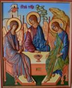 Резная икона Святая Троица 2