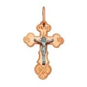 Золотой крестик для мужчин