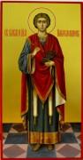 Рукописная икона Пантелеймон Целитель