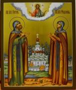 Икона Петр и Феврония Муромские 35