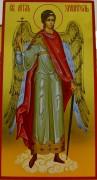 Рукописная икона Ангел хранитель золочение