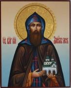 Рукописная икона Даниил Московский