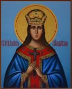 Рукописная икона Иулиания Ольшанская
