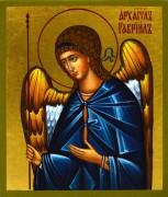 Рукописная икона Архангел Гавриил