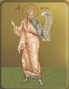 Рукописная икона Аггей