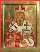 Рукописная икона Александр Самарский