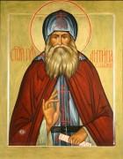 Рукописная икона Антипа Валаамский