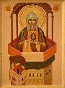 Рукописная икона Антоний Марткопский