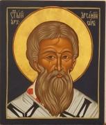 Рукописная икона Арсений Сербский