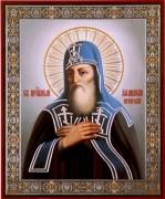 Рукописная икона Афанасий Печерский
