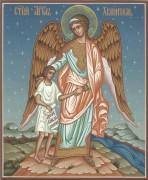 Икона Ангел ведет человека