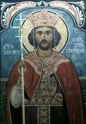 Рукописная икона Борис Болгарский