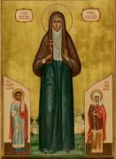 Рукописная икона Варвара Алапаевская