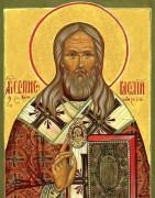 Рукописная икона Василий Кинешемский