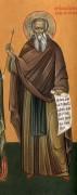 Рукописная икона Василий Печерский