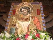 Рукописная икона Викентий Августопольский