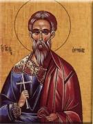 Рукописная икона Ермий Команский
