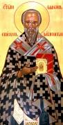 Рукописная икона Иларион Меглинский