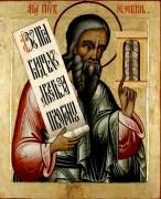 Рукописная икона Иезекииль Пророк