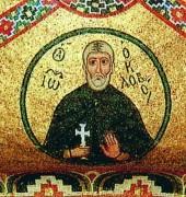 Рукописная икона Иоанн Колов