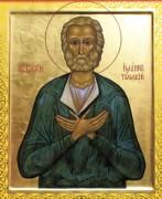 Рукописная икона Иоанн Тульский