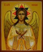 Рукописная икона Спас Благое Молчание