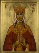 Рукописная икона Кетевана Кахетинская
