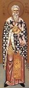 Рукописная икона Киприан Антиохийский
