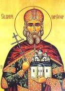 Рукописная икона Лазарь Сербский