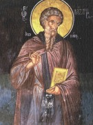 Рукописная икона Лазарь Иконописец