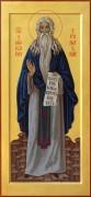 Рукописная икона Макарий Египетский