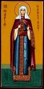 Рукописная икона Мария Константинопольская